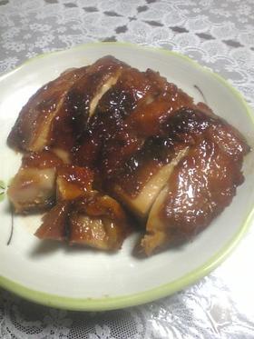 超簡単☆焼肉のタレで鶏の照り焼き