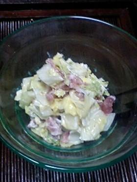 簡単♪白菜と生ハムのゴマサラダ