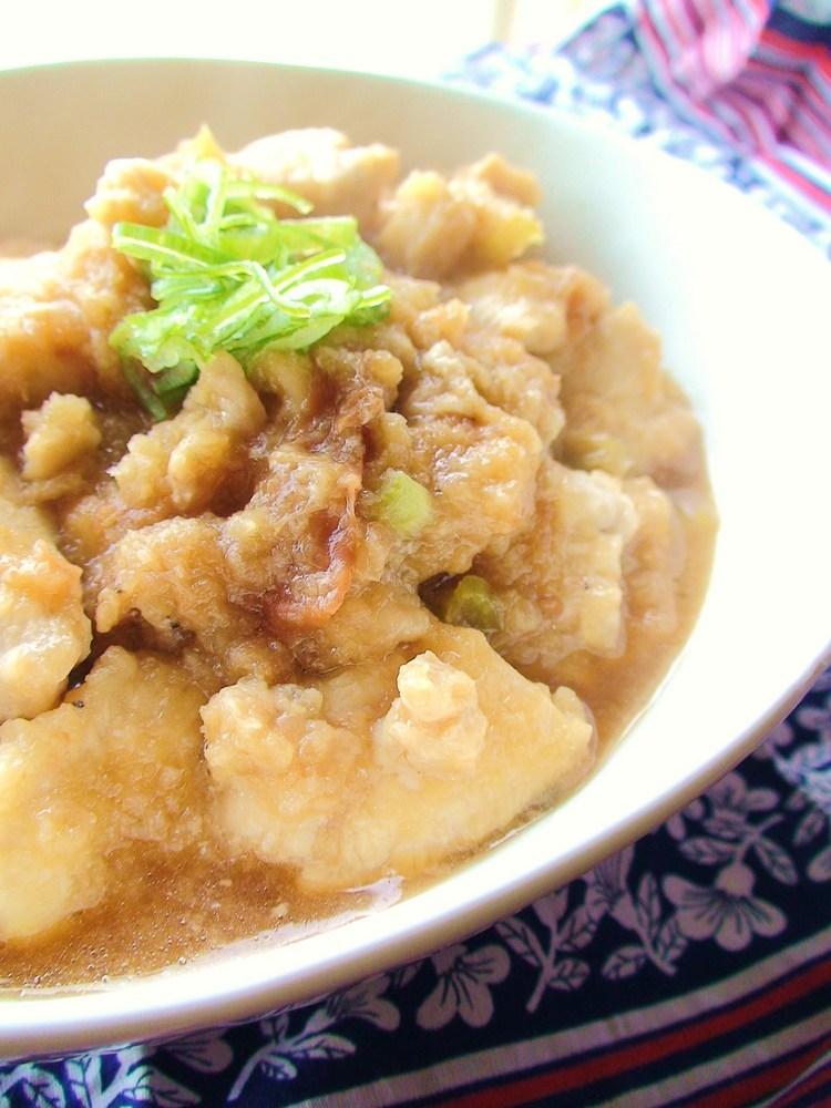 鶏肉の梅おろし煮*