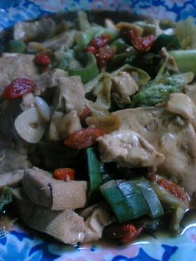 簡単★煮るだけ!黒酢でお豆腐