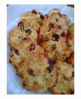 ブランフレーククッキー