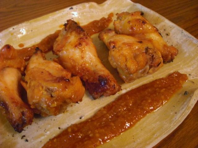 ♡鶏肉のピリ辛味噌漬けグリル♡