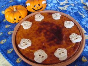 ハロウィン超簡単 パンプキンチーズケーキ
