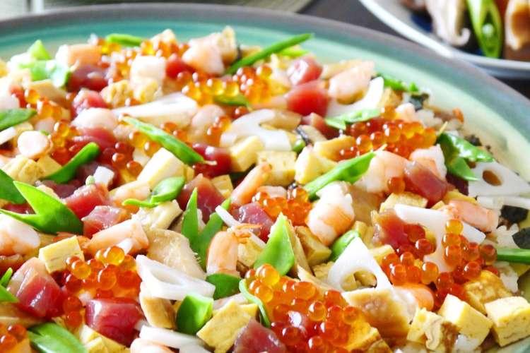 寿司 人気 ちらし レシピ