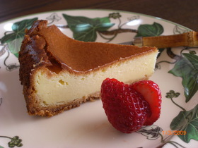 ♪お手軽で美味し~いチーズケーキ♪