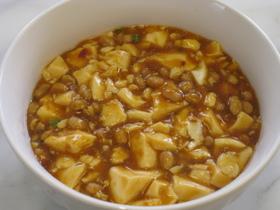 和風納豆麻婆豆腐