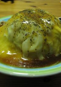 ガーリックライスコンソメ卵