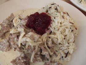 スウェーデン風トナカイのクリーム煮