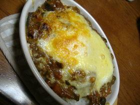 ♪ ~ 里芋ご飯のカレードリア ♪