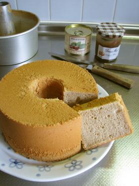 マロン*マロンシフォンケーキ