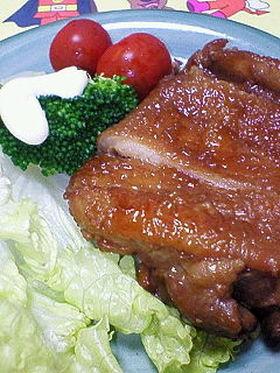 ♪鶏モモ肉の照り煮♪