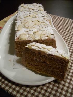 カフェモカバタークリームケーキ