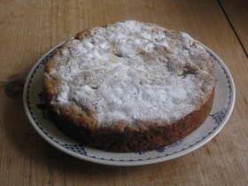 ホワイトチョコ☆ナッツ ケーキ