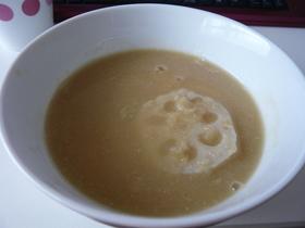 レンコンのスープ