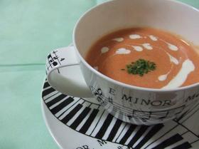 トマトのポタージュスープ