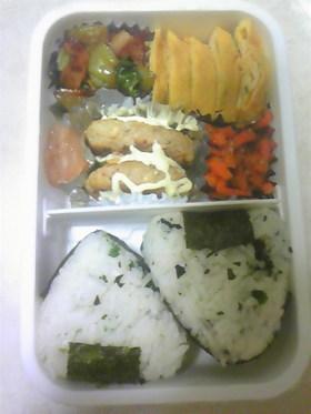 お弁当☆青梗菜とベーコンのオイスター炒め