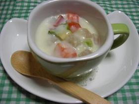 コロコロ大根のミルク煮