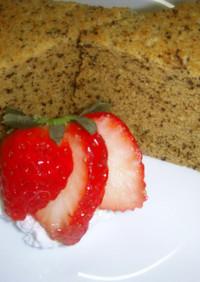 S炊飯器で紅茶のケーキ(シフォン風)