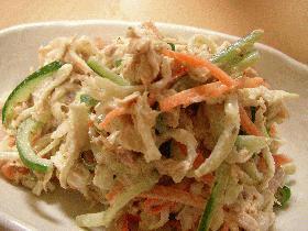 ツナと切干大根のサラダ