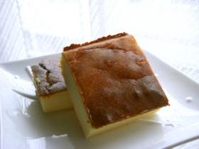 ココナッツ風味のあっさりチーズケーキ