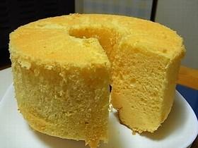 チーズのシフォンケーキ