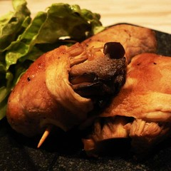 メインのおかずに!豚肉の舞茸エノキ巻き♪