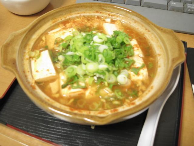 【一人鍋】簡単手抜きピリ辛豆腐鍋