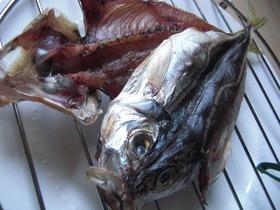 海外で手作り☆ 魚の干物