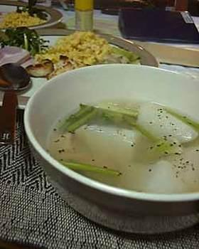 かぶのあったかスープ
