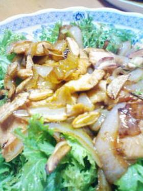 鶏肉のガーリック醤油ソテー