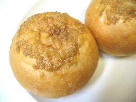 キャラメルクリームとメープルシロップのパン