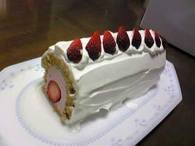 アレルギー対応!イチゴのムースケーキ