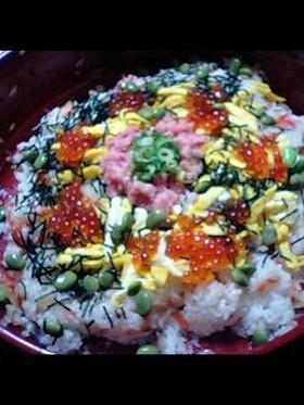 帰宅後15分で簡単ちらし寿司☆