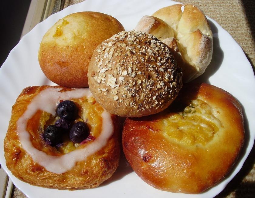 ☆焼きたての風合い♪パンの美味しい温め方
