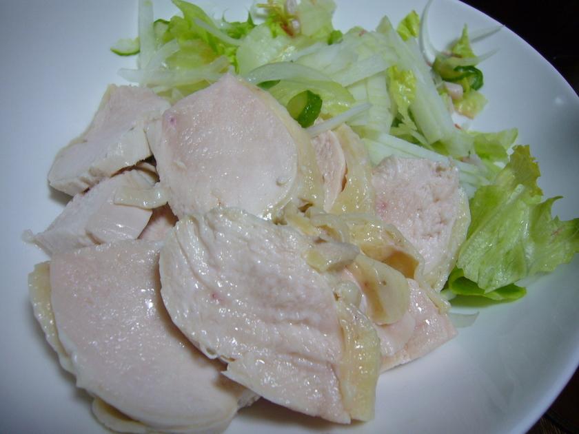 しっとり柔らか〰い魅惑の茹で鶏♫