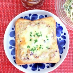 朝ごはんに☆チーズツナトースト