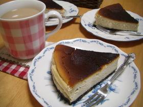 ベイクドチーズケーキ★ プロテイン入り♪