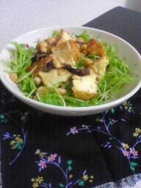 トリプル大豆のホットサラダ