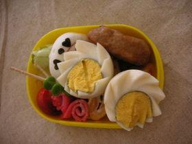 お花な✿ゆで卵【キャラ弁にも☆】