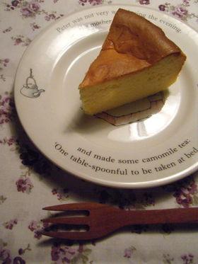 しっとり濃厚♡幸せスフレチーズケーキ