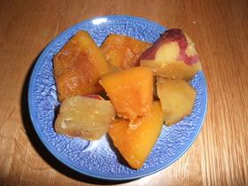 驚きの美味!かぼちゃとさつまいもの煮物