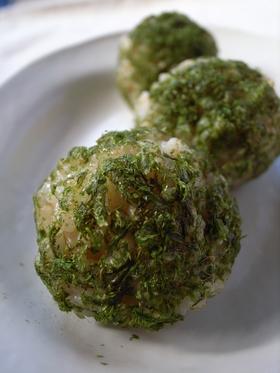 お弁当☀玄米のおむすび☀青海苔おにぎり