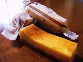 混ぜるだけ☆スティックチーズケーキ