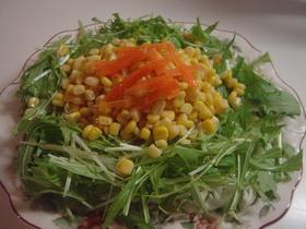 色鮮やか簡単サラダ♥