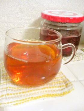 エコ☆苺ジャムの後の贅沢な紅茶☆