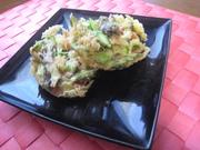 アスパラガスと舞茸の彩りかき揚げ♥の写真