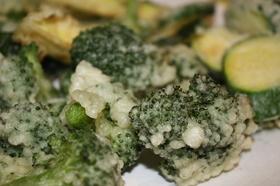野菜の天ぷら@日本食レストランinUSA