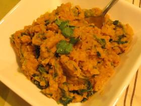 インドのお惣菜☆レンズ豆のクイックカレー