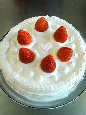 基本のショートケーキ
