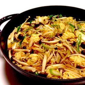 鶏つくねとたっぷり野菜のスープ鍋